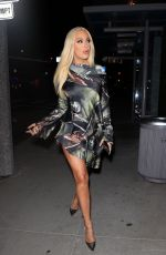 Tana Mongeau As she puts on a leggy display while out to dinner at BOA Steakhouse in West Hollywood