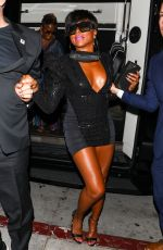 Taraji P. Henson Turns heads and commands attention as she is seen arriving to BOA Steakhouse in Hollywood