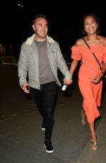 Tisha Merry Enjoys a date night at Australasia in Manchester
