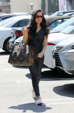 Vanessa Villela Seen filming Selling Sunset whilst carrying an oversized Louis Vuitton bag in Los Angeles