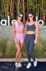 Victoria Justice & Madison Reed At Alo House - Day 1 in LA