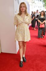 Aimee Lou Wood Attends The South Bank Sky Arts Awards at The Savoy in London