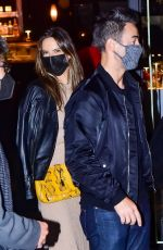 Alessandra Ambrosio Has dinner with her boyfriend Richard Lee and friends in Sao Paulo