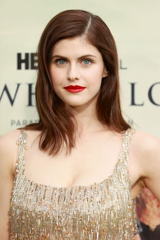 Alexandra Daddario Attending the premiere of The White Lotus in Pacific Palisades