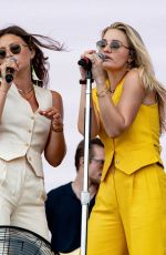 Aly and AJ Michalka at Lollapalooza at Grant Park in Chicago