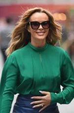 Amanda Holden At Global House in London