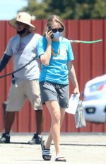 Amanda Seyfried Films The Dropout in Los Angeles