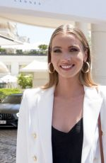 Amandine Petit Pictured at the Martinez Hotel during the 74th Cannes Film Festival