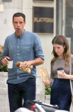 Anna Kendrick and Charlie Carrick Spotted on Set Filming