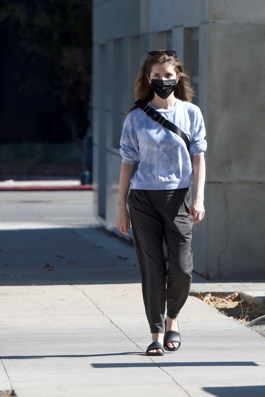 Anna Kendrick Out in Los Angeles