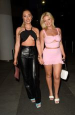 Apollonia Llewellyn & Liv Owens Seen at The 202 Kitchen Launch in Manchester