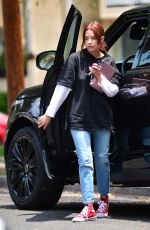 Ashley Benson Sporting new hair in West Hollywood