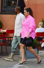 Ashley Graham Spotted for the first time after announcing her second pregnancy in New York