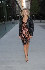 Ashley James Seen at Vivis Launch Party in London
