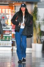 Bella Hadid Is spotted as she arrives at JFK Airport in New York