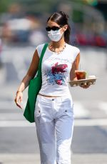 Bella Hadid Spotted stepping out for coffee in New York