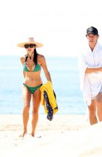 Bethenny Frankel Spends a holiday at Sag Harbor Beach in The Hamptons