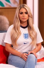 Bianca Gascoigne At This Morning TV Show in London