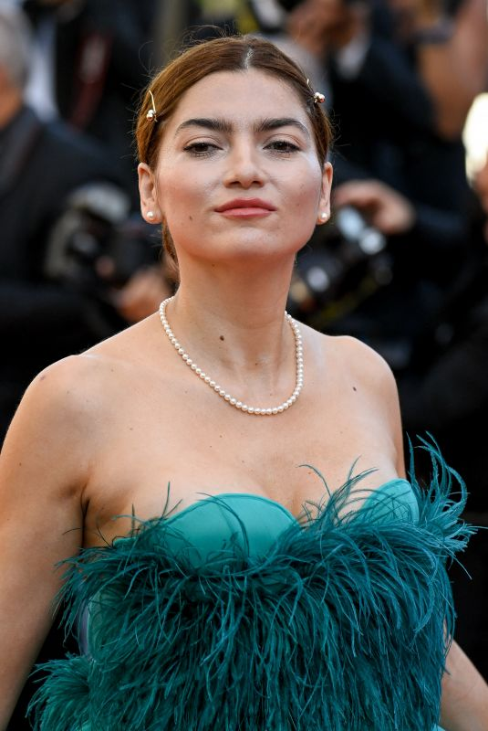 Blanca Blanco Attending the premiere of the movie Benedetta during the 74th Cannes Film Festival in Cannes