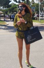 Blanca Blanco Enjoys her last day in Cannes, France after attending the 74th Cannes Film Festival
