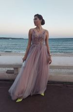 Blanca Blanco Goes sightseeing during the 74th Annual Cannes Film Festival