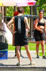 Camila Cabello And Shawn Mendes pack on the PDA as they take a stroll with her mom at a Beverly Hills park on a sunny Sunday afternoon