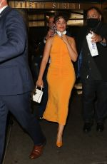 Camila Cabello Looks radiant in a yellow dress leaving The Tonight Show Starring Jimmy Fallon in New York