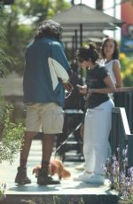 Camila Cabello Seen chatting with a fan while waiting in line for coffee in West Hollywood