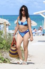 Camila Cabello Shows off her beach body as she hits the waves in Miami