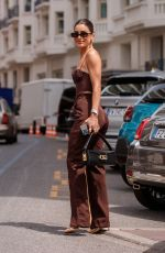 Camila Coelho Spotted at the Martinez Hotel during the 74th Cannes Film Festival