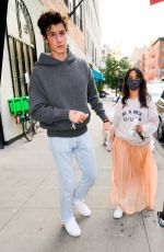 Camila Mendes Steps out in New York