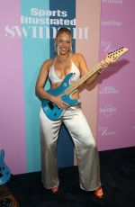 Camille Kostek At Sports Illustrated Swimsuit 2021 Issue Concert at Hard Rock Live in Hollywood