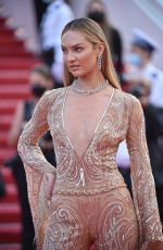 Candice Swanepoel At Opening Ceremony & Annette Screening at 74th Canne Film Festival
