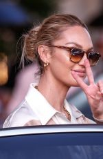 Candice Swanepoel Spotted at the Martinez Hotel during the 74th Cannes Film Festival