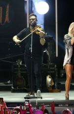 Carrie Underwood Performs during the CMA Summer Jam at Ascend Amphitheater in Nashville