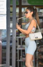 Chantel Jeffries Shows off her gym honed physique as she grabs a post workout smoothie in West Hollywood