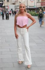 Chloe Crowhurst Seen at the Fast and Furious screening in Leicester Square at Vue Cinema