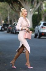 Christine Quinn Looks amazing as she leaves a friends house in West Hollywood