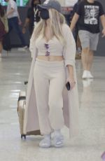 Courtney Stodden and Chris Sheng arrive into Washington DC to take part in a PETA rally