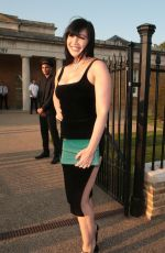 Daisy Lowe Attends the Bulgari Serpenti Metamorphosis party at The Serpentine Gallery in London