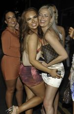 Demi Jones At Birthday Nightout at Boujee with Jess & Eve Gale and Jordanne Duggan in Manchester