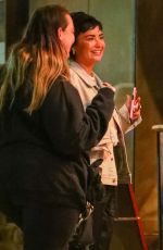 Demi Lovato Steps out for ice cream with friends in Larchmont Village