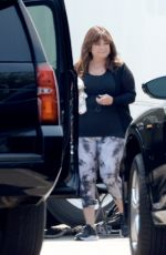 """Demi Lovato & Valerie Bertinelli On the set of their tv series """"Hungry"""" filming in Los Angeles"""
