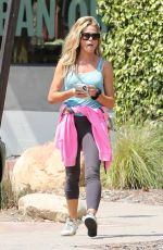 Denise Richards Spotted in her workout clothes at the Malibu Country Mart in Malibu