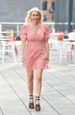 Denise Van Outen Out and about in London