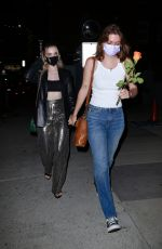 Dove Cameron Seen leaving Valentina Cy's show in Hollywood