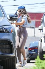 Eiza Gonzalez Out post workout in West Hollywood
