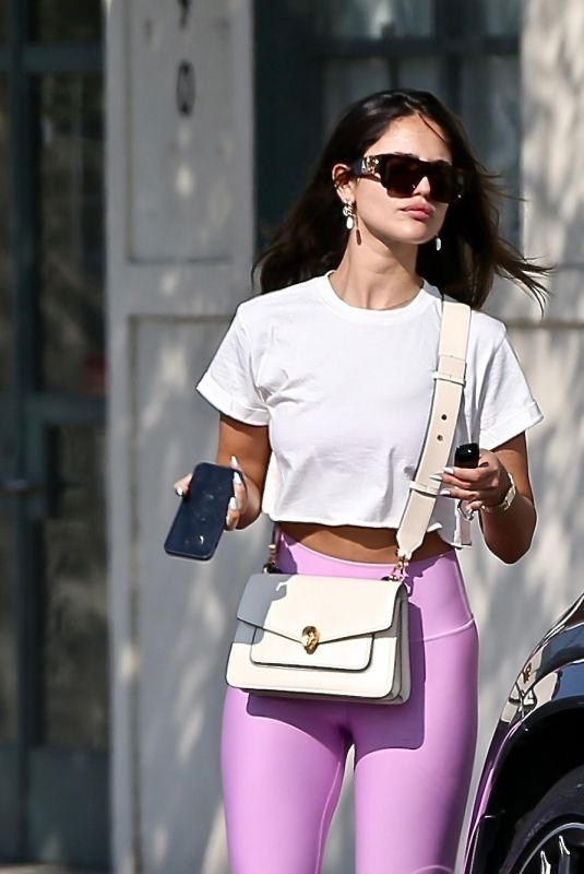 Eiza Gonzalez Out shopping in Beverly Hills