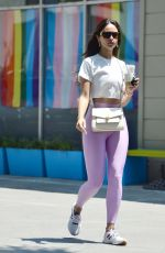 Eiza Gonzalez Pictured heading out for an iced coffee in Los Angeles