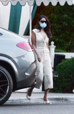 Eiza Gonzalez Spotted leaving the San Vicente Bungalos after dinner with friends in West Hollywood